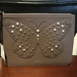 Kate Spade Larchmont Avenue Butterfly Gia Clutch